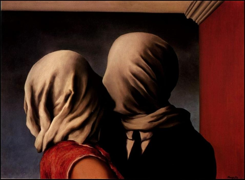 René Magritte | Os Amantes