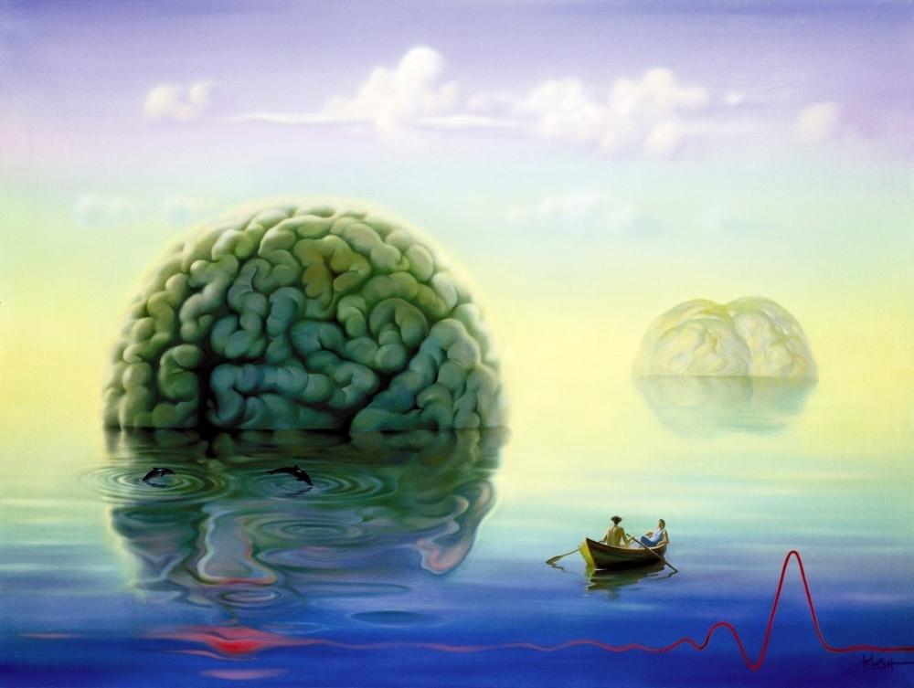 Ilustração Surrealista | Vladimir Kush